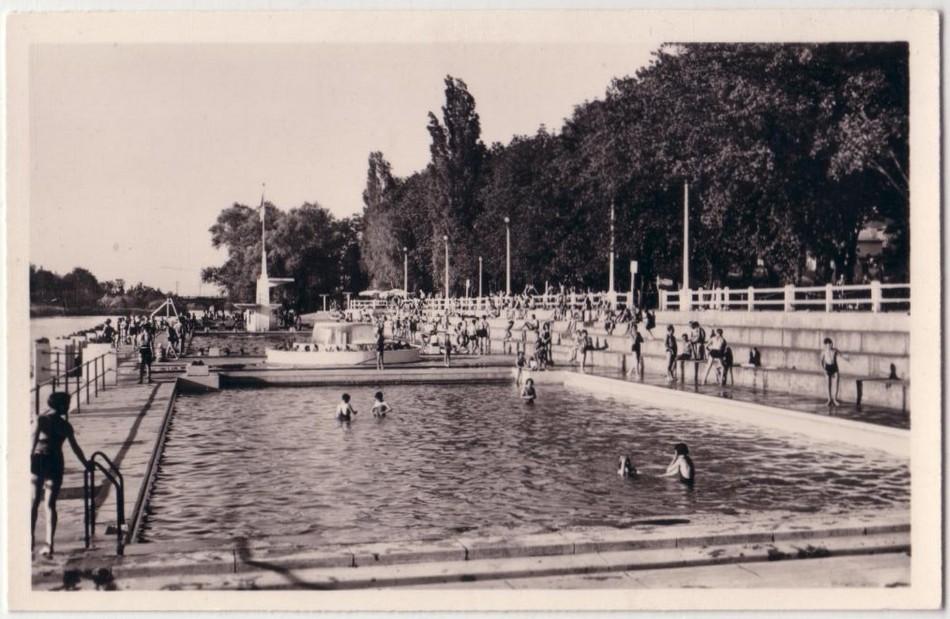 Cartes postales anciennes de lorraine metz 57000 la for Piscine lorraine