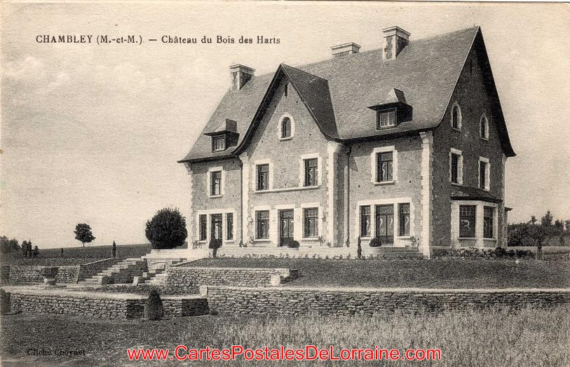 Cartes Postales Anciennes de Lorraine Chambley Bussi u00e8res (54890) Le Ch u00e2teau du Bois des Harts  # Le Chateau Du Bois