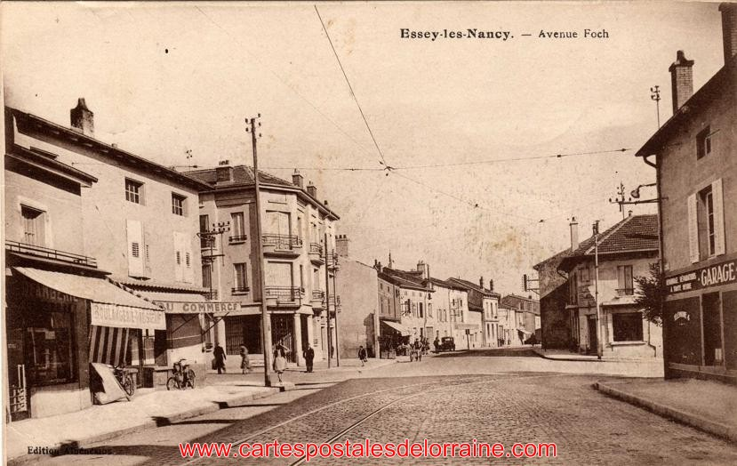 cartes postales anciennes de lorraine essey l s nancy 54270 les rues. Black Bedroom Furniture Sets. Home Design Ideas