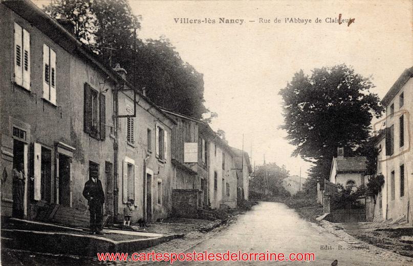 Rue De Viller A Nancy