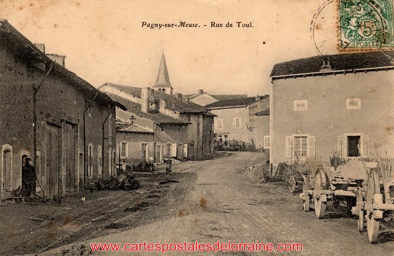 Lire la suite : Pagny-sur-Meuse (55190) - Les Rues. | Vus : 948 ...