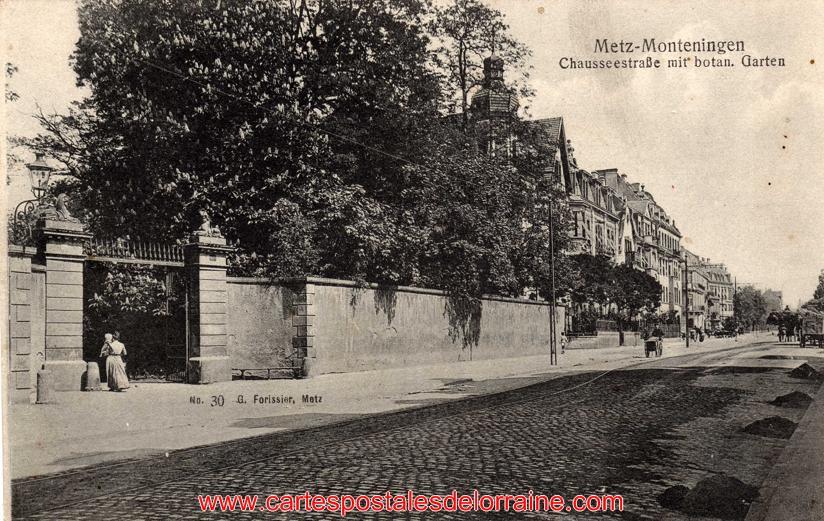 Cartes postales anciennes de lorraine montigny l s metz for Jardin botanique metz