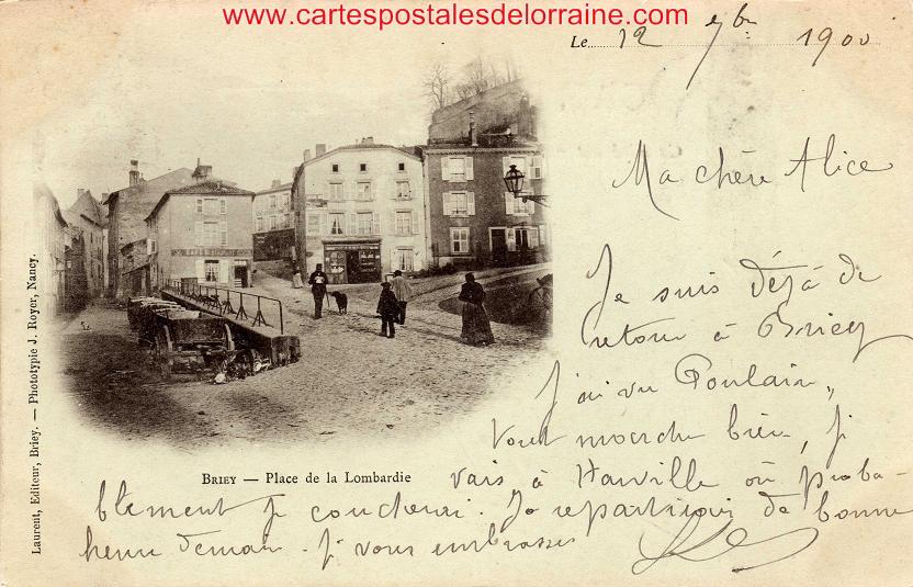 Cartes Postales Anciennes De Briey 54150
