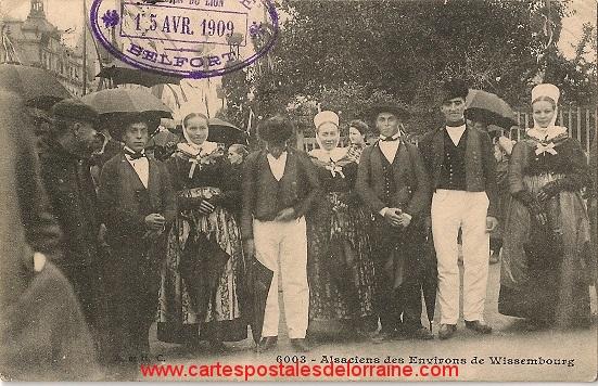 1909 04 Belfort CPA Alsaciens des environs de Wissembourg R.jpg